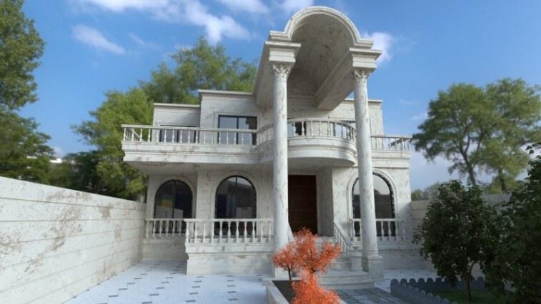 طراحی ویلا کلاسیک