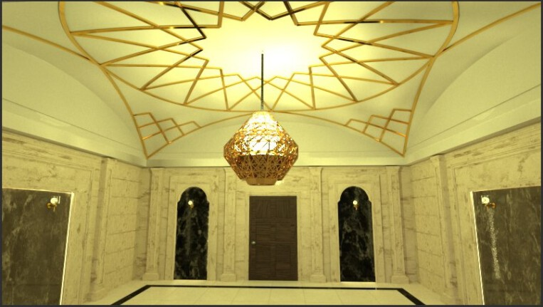 رسمی بندی سقف لابی
