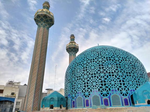 گنبد مسجد جامع علوی میدان آرژانتین